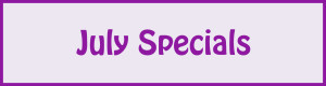 July Specials (Web Banners)
